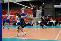 Image 1 in a series photography of Greece in attack against Norway Volleyball, Norway, Greece, Basketball Court, Photography, Image, Greece Country, Photograph, Photo Shoot