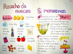 Receta andaluza Chilean Recipes, Cooking Recipes, Healthy Recipes, Kitchen Images, My Dessert, Food Illustrations, Stevia, Bakery, Recipies