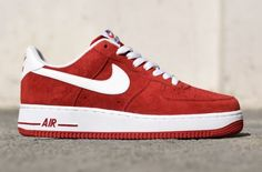 "Enjoy The Fall Breeze In The Smooth Nike Air Force 1 Low ""Suede Pack"""