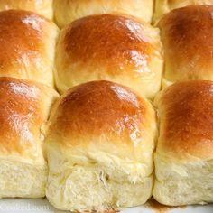 Super Soft Brioche Dinner Rolls - Simply Home Cooked Best Dinner Roll Recipe, Best Bread Recipe, Classic Dinner Rolls Recipe, Brioche Rolls, Brioche Bread, Yeast Bread, Soft Rolls Recipe, Bread Machine Recipes, Bread Recipes