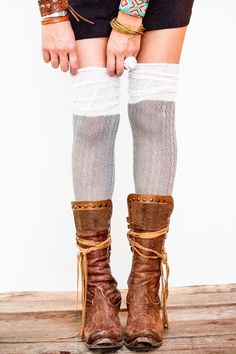 aa95e8701c9 Over-The-Knee Boot Socks