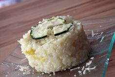Risotto courgettes