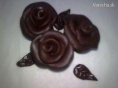 Plastická čokoláda (fotorecept) - obrázok 11 - My site Marshmallow, Fondant, Food And Drink, Cooking Recipes, Pudding, Sweet, Model, Deserts, Cook