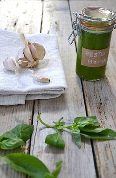 Pesto homemade
