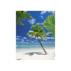 Fotomural de palmeras en la playa