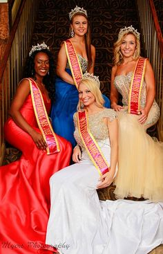 Our reigning beautiful 2013 National Queens.  Photo courtesy of Myers Photography