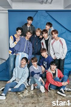 Photo )) Wanna One for April Issue of Magazine Jinyoung, Still Love You, My Love, Jaehwan Wanna One, Swing, Nothing Without You, Ong Seongwoo, Lee Daehwi, My Destiny