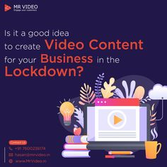 Is it a good idea to create Video Contact for your Business in the Lockdown. - Contact us for your video contact at hasan - - Whiteboard Video, Just Saying Hi, Marketing Videos, Video Team, Script Writing, Deep Thinking, Start Up Business, Business Management, You Videos