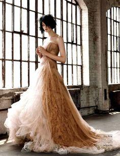 judith-orshalimian:  Kirsi Pyrhonen in Vera Wang for Vogue Russia, December 2012 :)