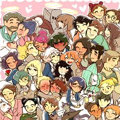 Princess Tutu characters - even the really minor ones I forgot xD