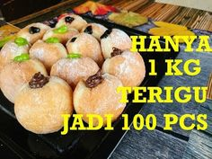 Donut Recipes, Bread Recipes, Dessert Recipes, Desserts, Indonesian Cuisine, Cake Cookies, Donuts, Bakery, Food And Drink