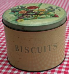 Biscuit Tin Love collecting the old tin canisters One of my favorite ones is from London a Carousel tin :) Of course my ones from Paris are my favorite <3