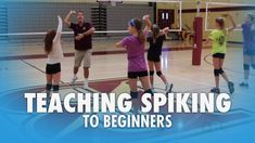 Learn volleyball hitting skills from top instructors. Take your team to the next level with volleyball spiking techniques to drive your offense into overdive. Volleyball Hitter, Volleyball Passing Drills, Volleyball Drills For Beginners, Spike Volleyball, Volleyball Skills, Volleyball Practice, Volleyball Games, Volleyball Training, Coaching Volleyball