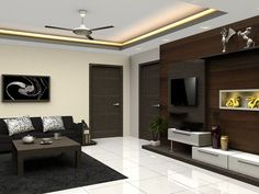 Startling Tips: False Ceiling Design New false ceiling living room curtains.False Ceiling Ideas With Fan false ceiling fabrics.False Ceiling Section Living Rooms. Home Ceiling, Kitchen Ceiling Design, Hall Design, Diy Ceiling, Home Design Decor, Modern Ceiling, Ceiling Design Modern, Simple False Ceiling Design, Kitchen Design