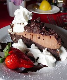 I Dream Of Mud Pie stock image. Image of culinary, cuisine - 78957 Chocolate Dishes, Chocolate Cake, Pie Recipes, Dessert Recipes, Mississippi Mud Pie, Pie Pops, Good Food, Yummy Food, Time To Eat