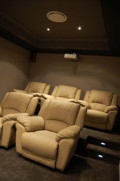 New Small Home theater Design