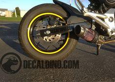 "DecalDino™ Pink Grom Life Fob KeyChain 6/"" Wrist lanyard for Honda MSX decals"