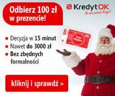 Kredyt OK - promocja odbierz 100 zł