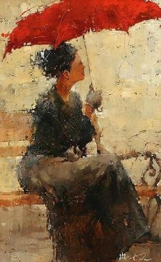 by Andre Kohn, Russian-born Figurative Impressionist painter