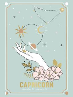 Capricorn Zodiac Series Clear Acrylic Box by Cafelab - 4 X 4 X 3 Zodiac Art, Zodiac Signs, Capricorn Art, Capricorn Tattoo, Capricorn Aesthetic, Monthly Horoscope, Astrology Numerology, Cute Wallpapers, Framed Art Prints