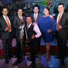 Orquesta de los Hermanos Flores. San Vicente. 50 años de trayectoria musical. Cortesía grupo Beautiful El Salvador.