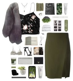 """""""give me the sense of autumn that you'll never forget"""" by ughtara ❤ liked on Polyvore featuring Versace, Topshop, Charlotte Russe, Paul & Joe, Assouline Publishing, Yves Saint Laurent, La Perla, Prada, Casetify and Maison La Bougie"""