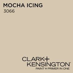 Mocha Icing 3066 by Clark+Kensington Great for Winter Color Themes!