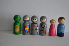 Hey, I found this really awesome Etsy listing at https://www.etsy.com/listing/243669694/castle-peg-doll-set-knight-peg-dolls