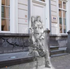 Ghosts of war - Eindhoven; Paratrooper at the door | Flickr - Photo Sharing!