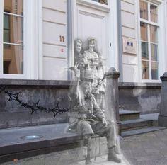 Ghosts of war - Eindhoven; Paratrooper at the door | Flickr - Photo Sharing!