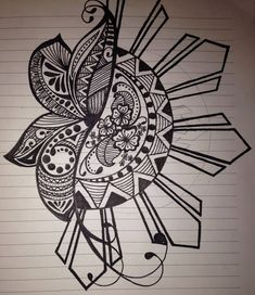 """OP """"Quick sketch of mine. I incorporated the Filipino sun because I am half. Lots of different designs in the petals of the flower makes it interesting to me. Maori Tattoos, Irezumi Tattoos, Filipino Tribal Tattoos, Tribal Tattoos For Women, Hawaiian Tribal Tattoos, Maori Tattoo Designs, Tattoos Skull, Marquesan Tattoos, Samoan Tattoo"""