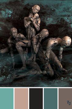 ZJ Colour Palette 752 #colourpalettes #colourinspiration