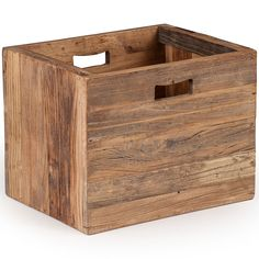 Custer Box @ Sleek Modern Furniture! Perfect for storing magazines or small blankets! Rustic for the holidays! #FreeShipping
