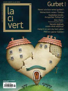 Gurbet, Göç, Kimlik, Vatan. 'Toprak' kokan dosya konusuyla @lacivert_dergi eylül sayısı okunacaklar listesinde.