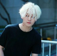 2020 best blonde wigs blonde hair on dark skin – 2020 best blonde wigs … White Hair Men, Boy With White Hair, Short White Hair, Cute Asian Guys, Cute Korean Boys, Pelo Ulzzang, Kpop Hair, Hair Reference, Grunge Hair