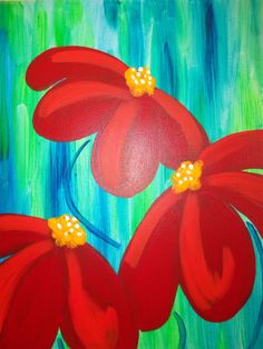 Paint canvas idea