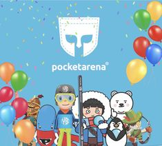 Meet our Pocket Arena friends at China Joy in Shanghai, China. Shanghai, Family Guy, Meet, Joy, China, Pocket, Friends, Fictional Characters, Amigos