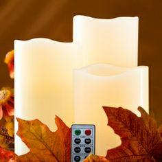 Remote Controlled Flameless Candles Variety Pack