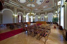 Obřadní síň městského úřadu Slaný (foto Pavel Vychodil)