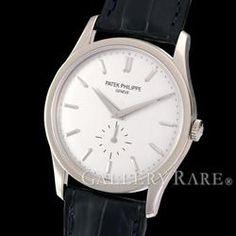 パテックフィリップ カラトラバ  K18WGホワイトゴールド 5196G-001 Dバックル仕様 PATEK PHILIPPE 時計