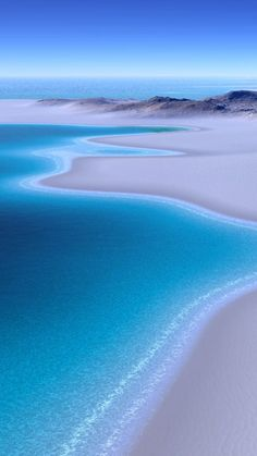 Beach Wallpaper for iPhone - 02 - Beautiful Beach of Blue Ocean Blue Wallpaper Iphone, Ocean Wallpaper, Apple Wallpaper, Scenery Wallpaper, Galaxy Wallpaper, Beautiful Landscape Wallpaper, Beautiful Landscapes, Beach Pictures, Nature Pictures