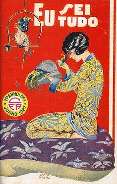 Otto Sachs, Eu Sei Tudo, No. 1, June 1927, via Flickr.