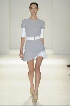 Victoria Beckham grey and white