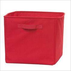 Cooper 2PK Canvas Cube Red $50