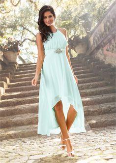 Waterfall Halter Dress in Formal Dress Shops, Formal Dresses, Oversize Pullover, Flirt, Nice Dresses, Party Dress, Bridesmaid Dresses, Hairstyle, Boho