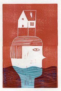 The house on my head.