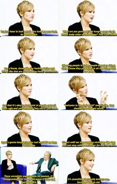 Jennifer Lawrence on body image