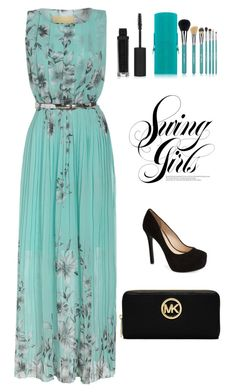 """""""Sin título #146"""" by flo01 ❤ liked on Polyvore featuring Jessica Simpson, Topshop, Sigma Beauty and MICHAEL Michael Kors"""
