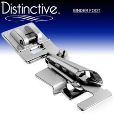 Distinctive Binder Sewing Machine Presser Foot - Fits All Low Shank Snap-On Singer*, Brother, Babylock, Euro-Pro, Janome, Kenmore, White, Juki, New Home, Simplicity, Elna and More! Distinctive http://www.amazon.com/dp/B00ERYICYQ/ref=cm_sw_r_pi_dp_onmEub05WBX28