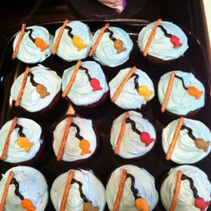 "Children's Chapel Cupcakes, the theme is ""Fishers of men"""
